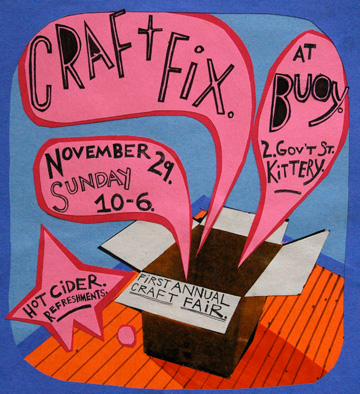 "Craft Fix gets a special shout-out since this is their first year doing this event. I expect this one will feature a lot more of the hip, happening ""new school"" crafters."