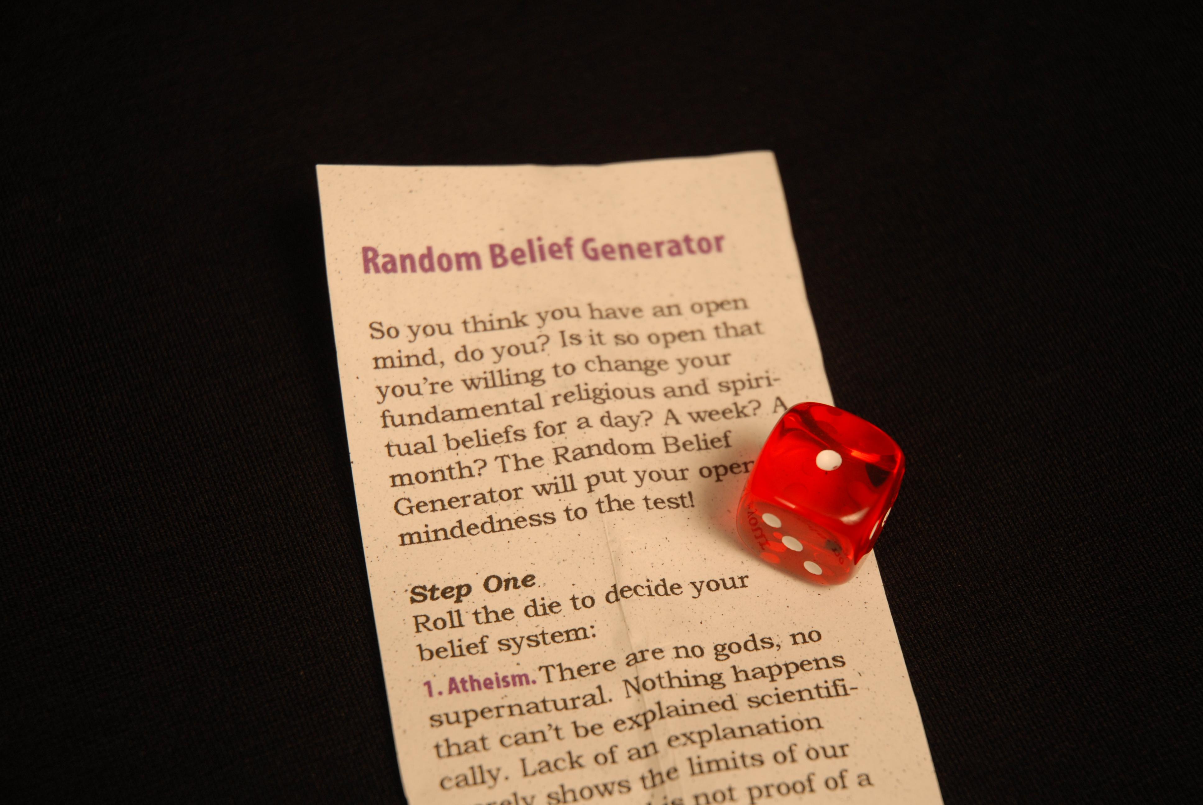 Random Belief Generator